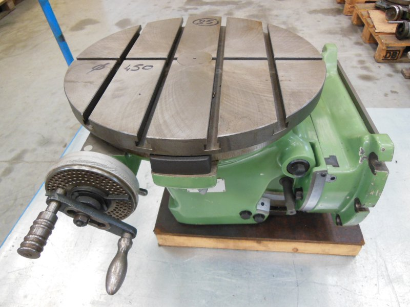25 - DECKEL - Table circulaire inclin. TYPE 2236